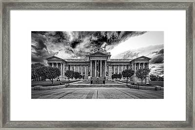 Pueblo County Courthouse Framed Print by Mountain Dreams