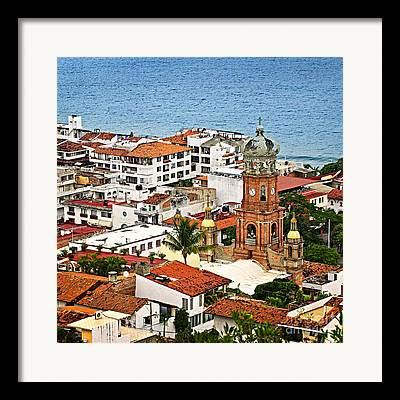 Puerto Vallarta Framed Prints