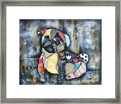 Pug Framed Print by Patricia Lintner