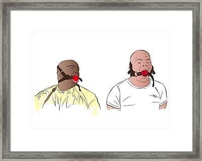 Pulp Fiction Framed Print by Ralf Wandschneider