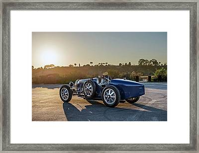 Pur Sang Bugatti Type 35 Framed Print by Drew Phillips