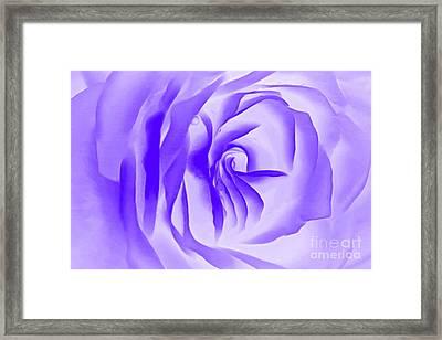 Purple Promises Framed Print by Krissy Katsimbras