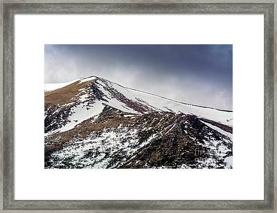 Puy De Sancy. Auvergne. France Framed Print by Bernard Jaubert
