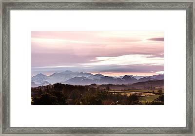 Pyrenees  Framed Print by Francoise Dugourd-Caput