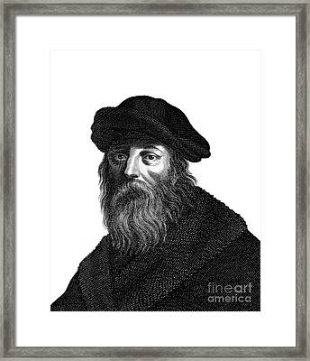 Pythagoras, Ancient Greek Philosopher Framed Print by Wellcome Images