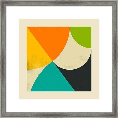 Pythagorean Triad Framed Print