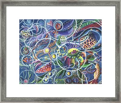 Quantum Entanglement Framed Print by Vera Tour