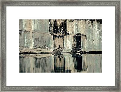Quarry Framed Print by Gillis Cone