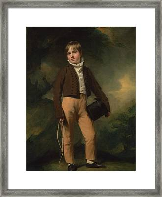 Quentin Mcadam Framed Print by Henry Raeburn