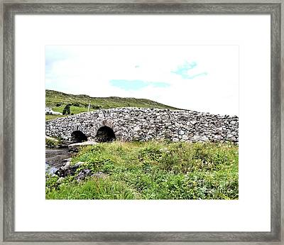Quiet Man Bridge Framed Print by Jim Lapp