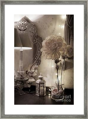 Framed Print featuring the photograph Quiet Moment by Aiolos Greek Collections