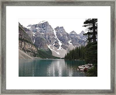 Framed Print featuring the photograph Quiet Waters by Al Fritz