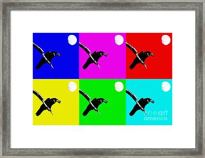 Quoth The Raven Nevermore Six Framed Print