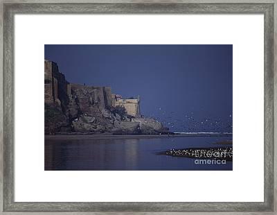 Rabat Bouregreg River Morocco Framed Print by Antonio Martinho