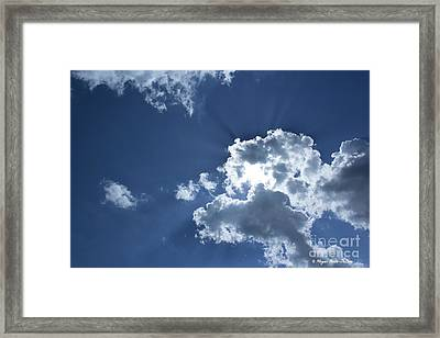 Framed Print featuring the photograph Radiance by Megan Dirsa-DuBois