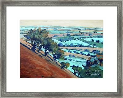Ragged Stone Hill Framed Print