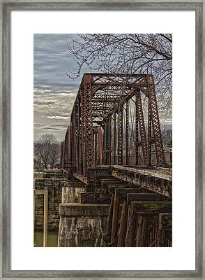 Rail Bridge Framed Print