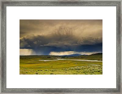 Rain Sky Framed Print by Patrick  Flynn