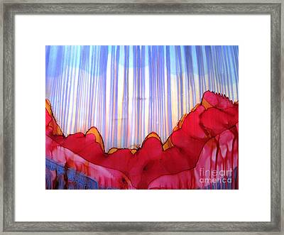 Rain Framed Print by Susan Parsley