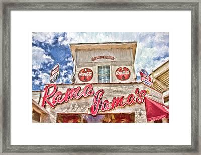 Rama Jama's Framed Print by Scott Pellegrin