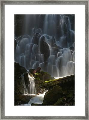 Ramona Falls Oregon Framed Print