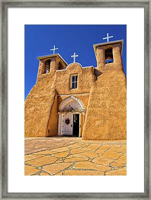 Ranchos De Taos Church  Framed Print