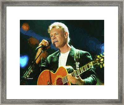 Randy Travis  Framed Print