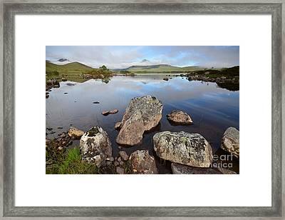 Rannoch Moor Framed Print by Nichola Denny
