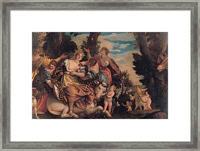 Rape Of Europa Framed Print