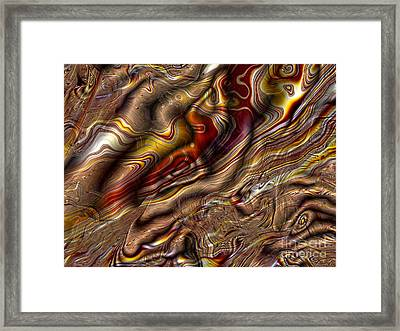 Framed Print featuring the digital art Rare Silk by Richard Ortolano