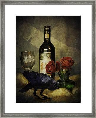 The Ravens Table Framed Print