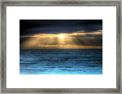 Rays Of Light 2 Framed Print by Naman Imagery