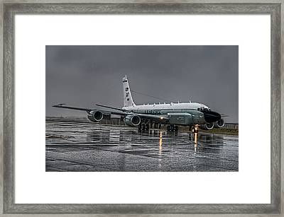 Rc-135 Rivet Joint Framed Print