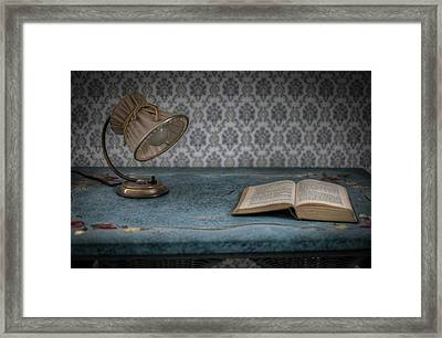 Reading Light Framed Print by Nathan Wright