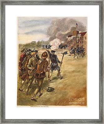 Rebels: Arsenal, 1787 Framed Print by Granger