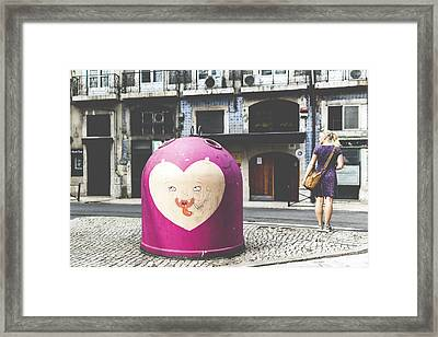 Reciclar O Olhar Framed Print by Andre Goncalves
