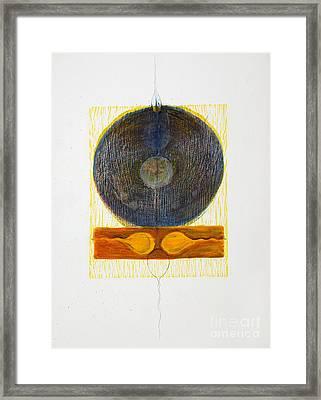 Reciprocal End Framed Print by Asma Hashmi