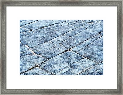 Rectangles Framed Print by Tim Gainey