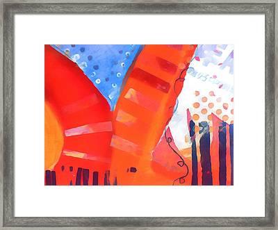 Red Series Framed Print