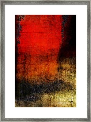 Red Tide Vertical Framed Print by Edward Fielding