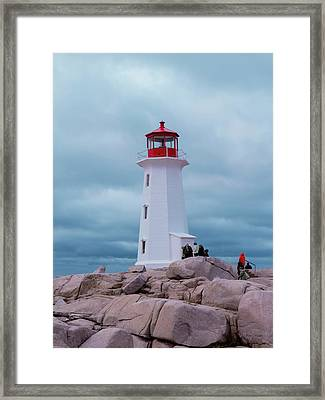 Red White And Blue Framed Print by Betsy Knapp