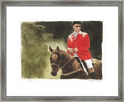 Referee Framed Print by Stephen Rutherford