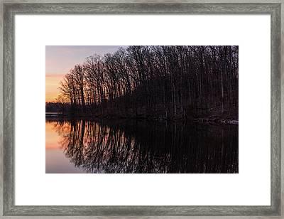 Reflect Framed Print by Kristopher Schoenleber