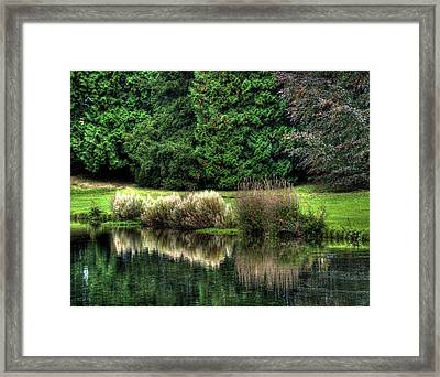 Framed Print featuring the photograph Reflected by Gouzel -