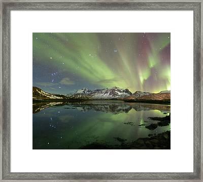 Reflected Lights Framed Print