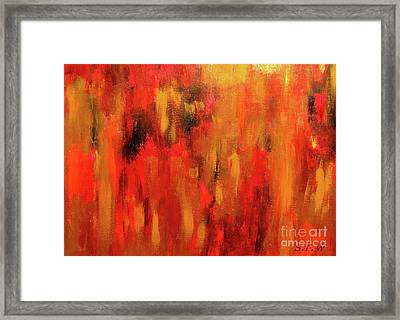 Reflected Framed Print by Shelly Wiseberg