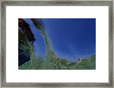 Reflection 9 Framed Print by Catherine BELLOEIL