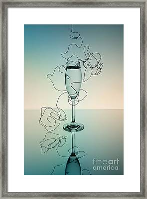 Reflection Framed Print by Nailia Schwarz