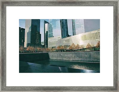 Framed Print featuring the photograph Reflections Of Sorrow by Jessica Jenney