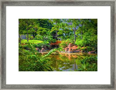 Reflections Framed Print by Louis Ferreira